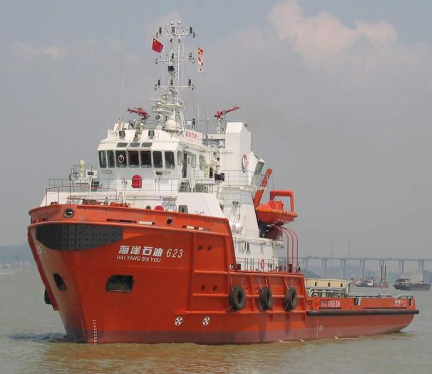 6,500BHP Electric Propulsion Standby Vessel