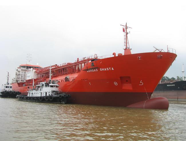 LPG ship �°Norgas Shasta�±