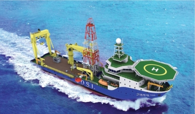 Deep Water Engineering Survey vessel
