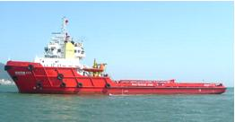 6,500BHP Anchor Handling Tug Supply Vessel