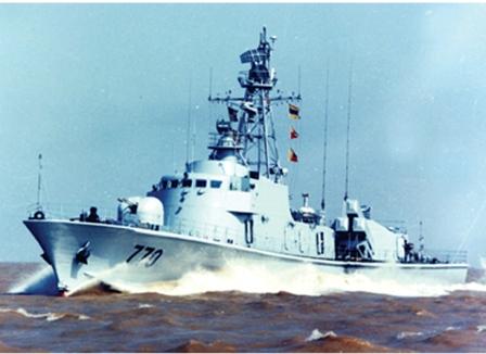 导弹护卫艇—中华第一艇