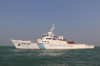 1500吨海警船