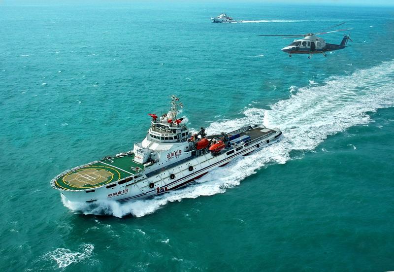 14000KW海洋救助船