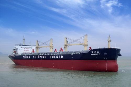 57000吨散货船