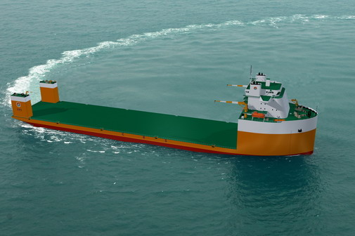 50000吨半潜打捞工程船