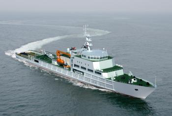 12000KW大型救助巡航船