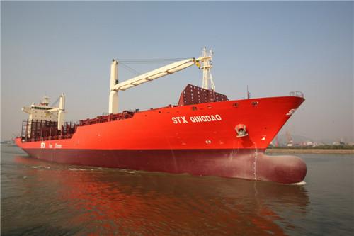 1700TEU 集装箱船
