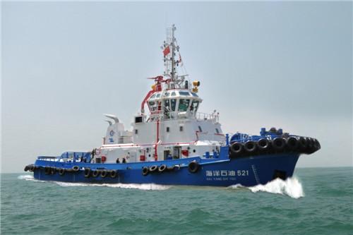 8000马力LNG双燃料港作拖船