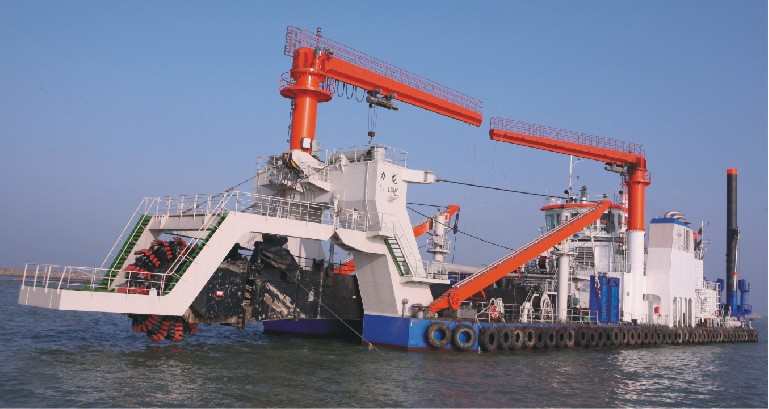 2300m3/h 绞吸斗轮式挖泥船