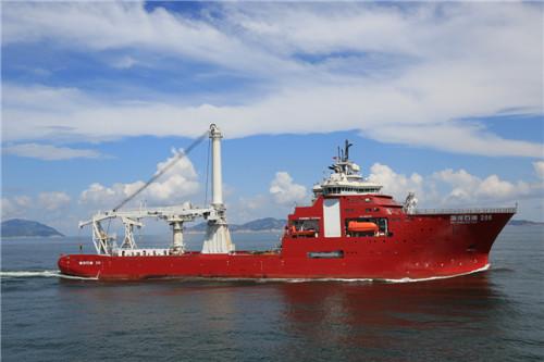 3000米多功能水下作业支持船