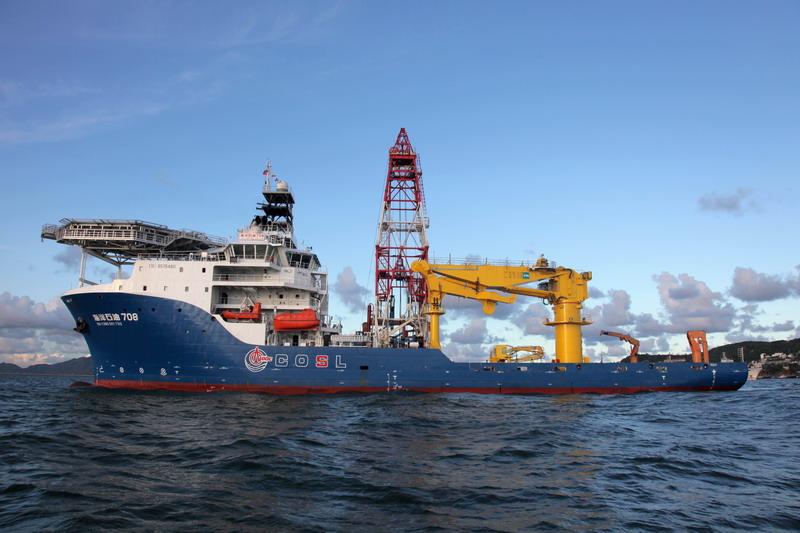 3000米深水工程勘察船
