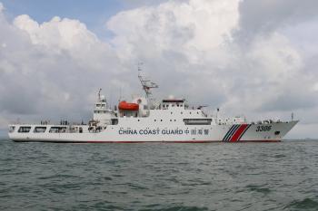 3000噸海警船