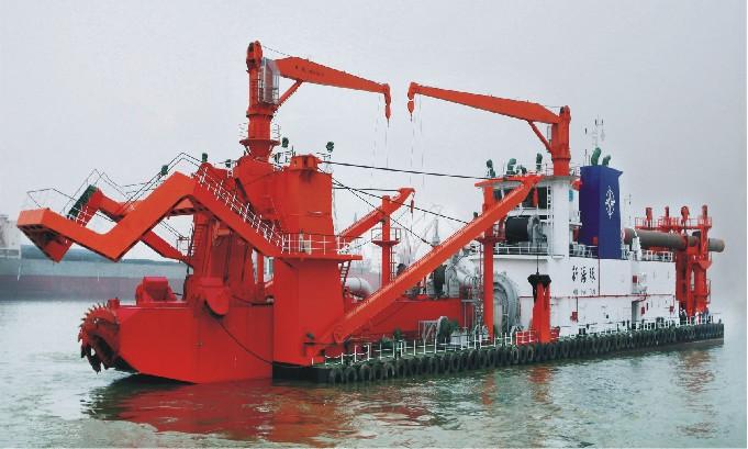 5000m3/h 绞吸式挖泥船