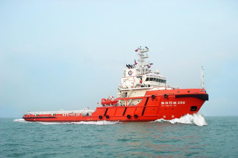 8000HP环保船