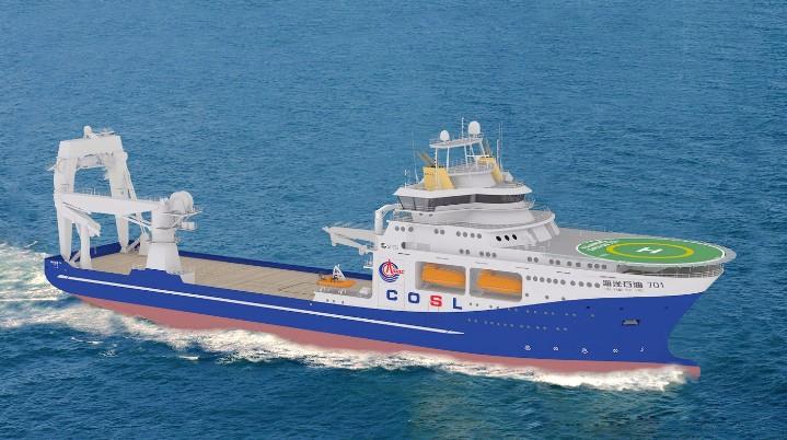 大型综合深水勘察船