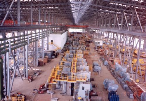 85万吨轧钢生产线安装